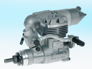 SC Engines - SC36A-S Aero RC ABC Engine (Rear Needle)