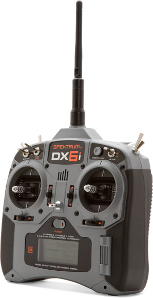 Spektrum - DX6i 2.4Ghz 6Ch Tx and Rx