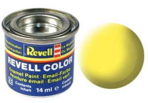 Revell 14ml No.15 - Yellow Matt Enamel Paint